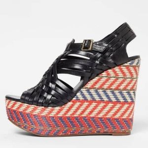 Tory Burch Raven Wedge Sandals